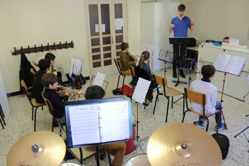 Orchestre Junior Répétition